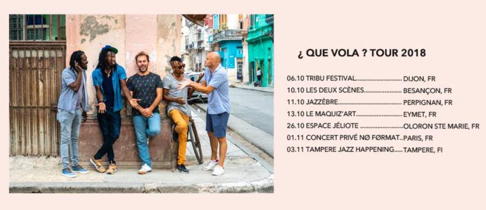 Osain del Monte - Que Vola - Trio Peligroso-Gira - 2018