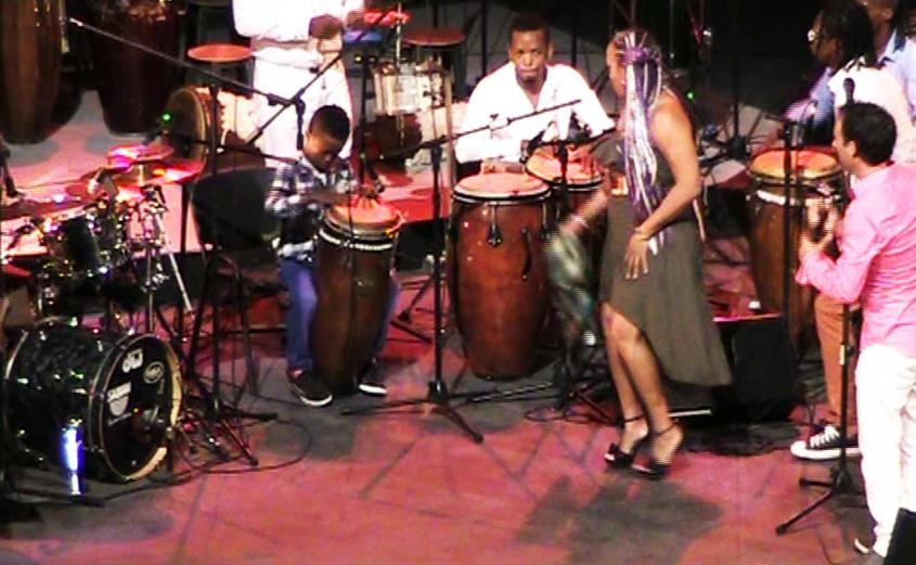 Osain del Monte - Fiesta del Tambor - Teatro Mella - Adonis Jr